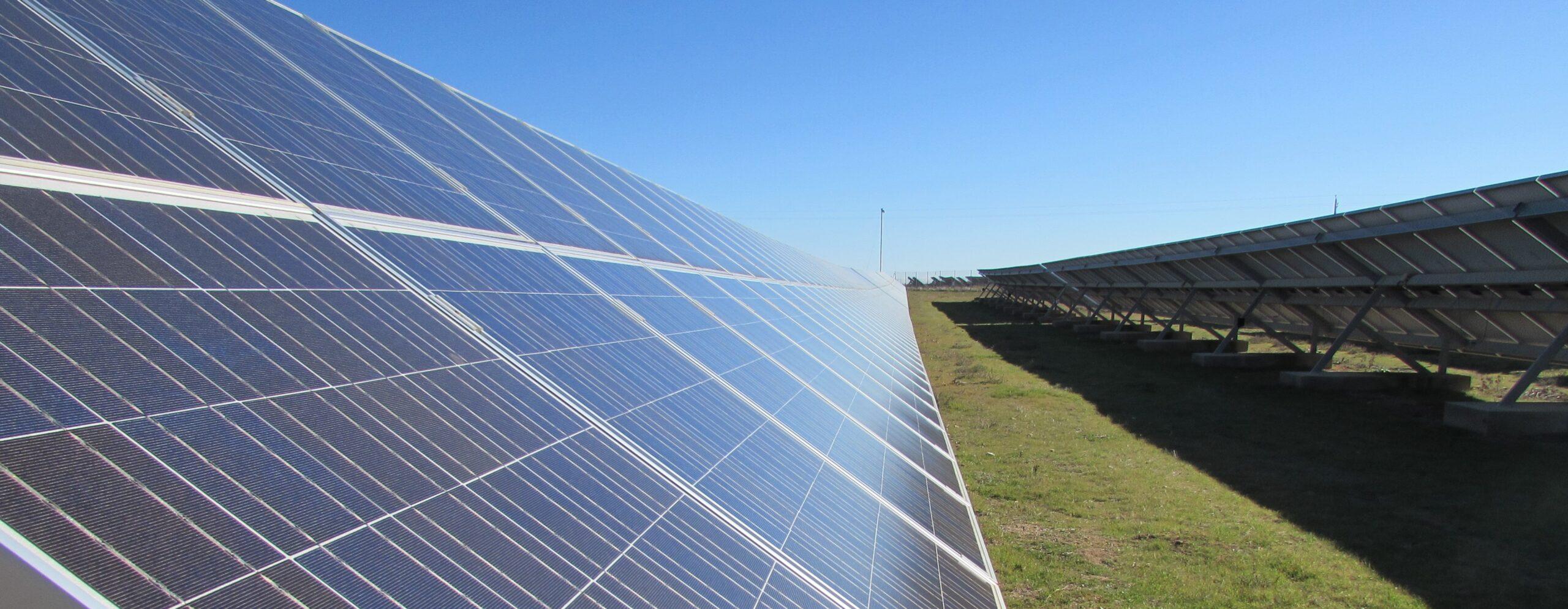 Planta solar GFM