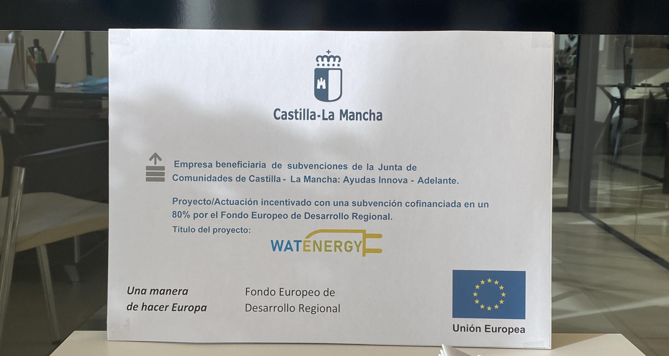 Watenergy subvención web