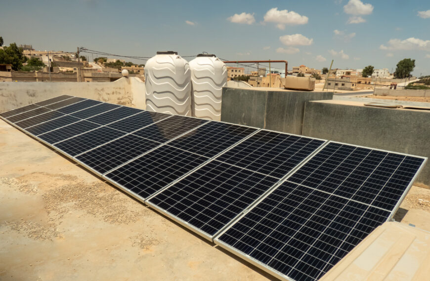 GFM poneen marcha un Proyecto para el suministro de electricidad y agua potable, en Jordania